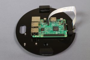 Pi Eye - Main Support Plate with Pi