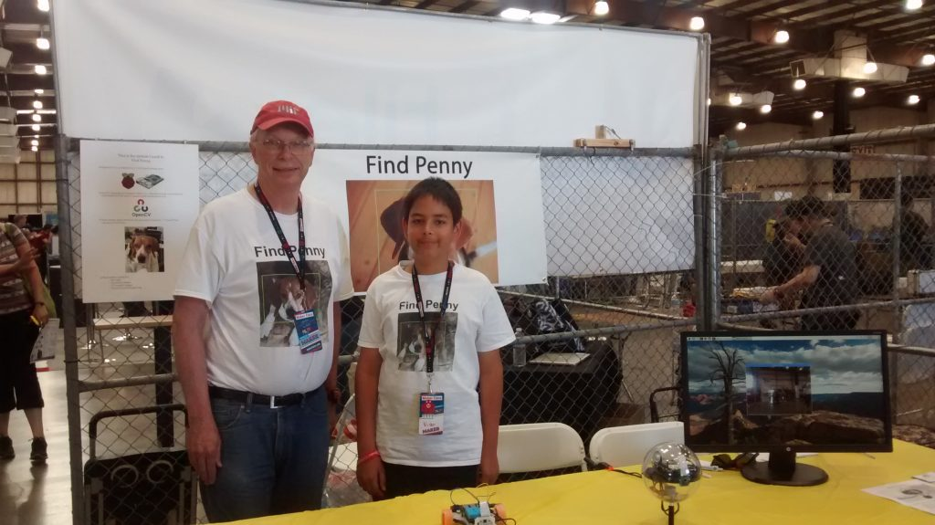 """Find Penny"" at Bay Area Maker Faire 2017"